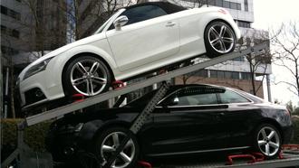 Audi invoeren uit Duitsland