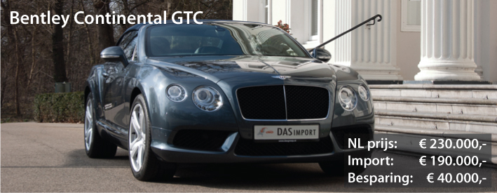 Bentley importeren   136 Duitse Bentley u0026#39;s incl  BPM