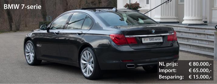 BMW 7-serie uit Duitsland