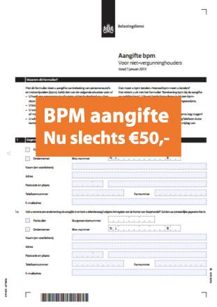 Bpm Aangifte Rapport Met Laagst Haalbare Rest Bpm Das Import