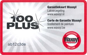 Garantie Waxoyl 100 Plus