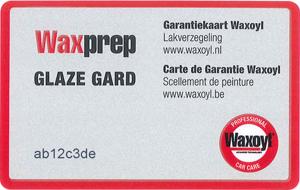 Garantie Waxoyl Glaze Gard