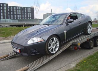 Jaguar importeren uit Duitsland