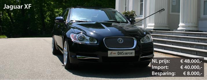 Jaguar XF uit Duitsland