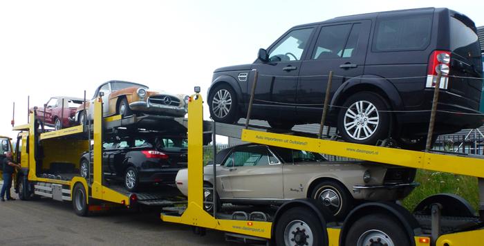 Land Rover importeren uit Duitsland