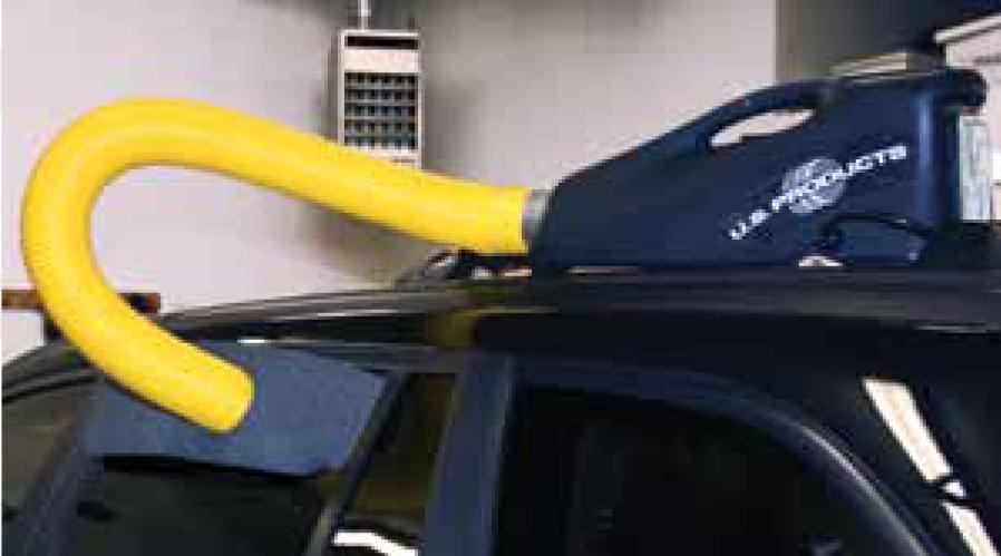 Ozonbehandeling auto
