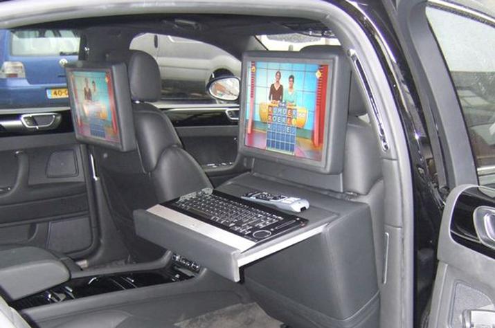 PC in de auto