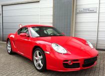 Porsche Cayman uit Duitsland