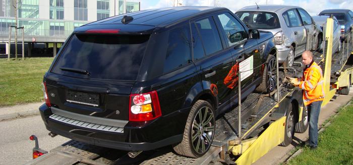 Range Rover importeren uit Duitsland