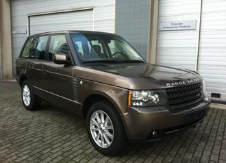 Range Rover invoeren uit Duitsland