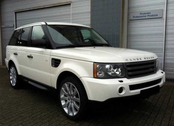 Onlangs ingevoerde Range Rover Sport