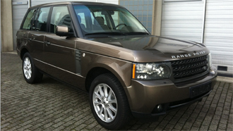 Onlangs ingevoerde Range Rover