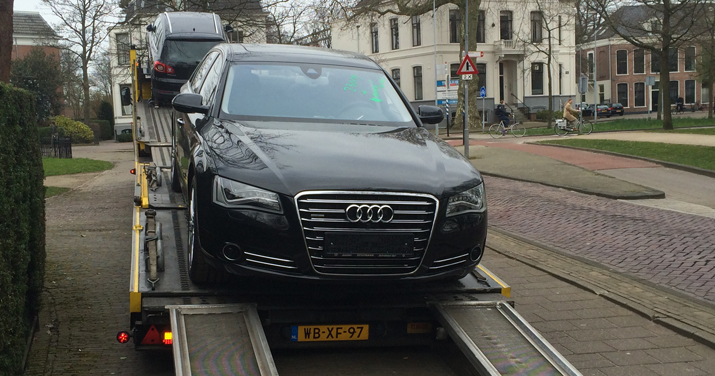 Transport Duitse Audi A8