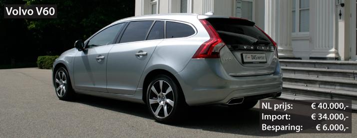 Recent geïmporteerde Volvo V60